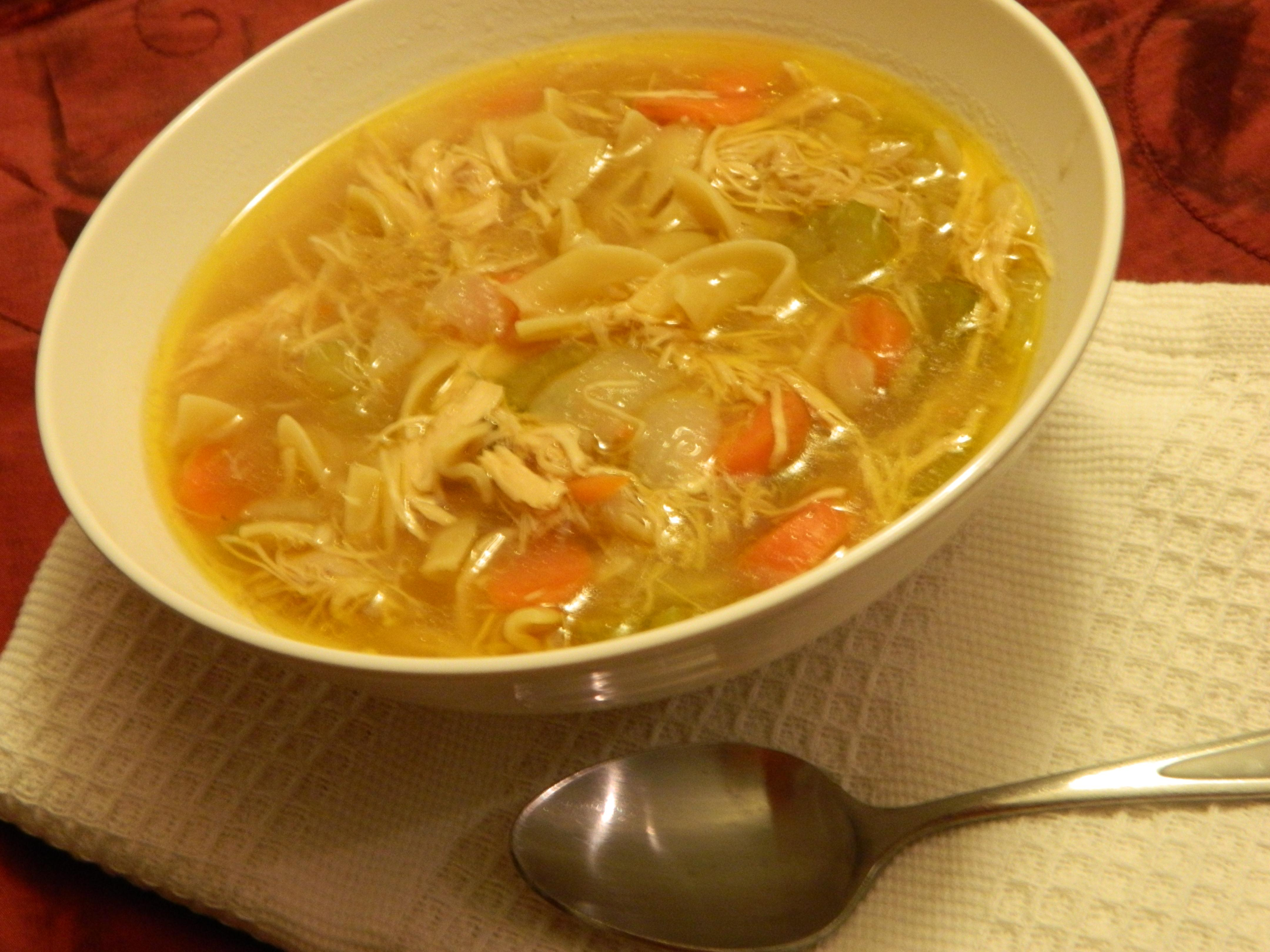 Nothing Better: Homemade Chicken Noodle Soup « ThreeSquareMeals
