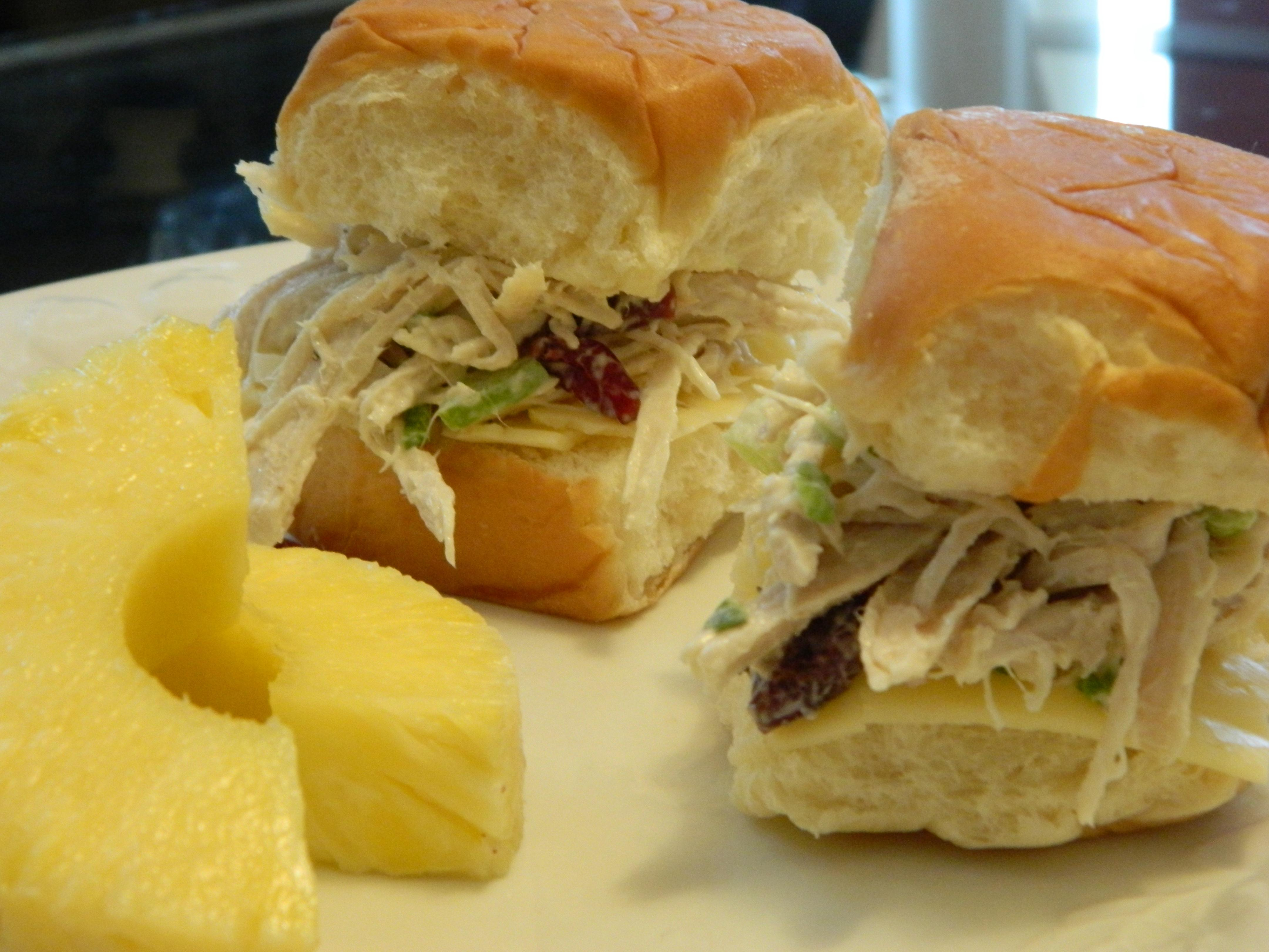 Missing Turkey? Turkey Salad Sandwich with Havarti Cheese and ...